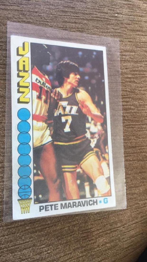 1976-77 Topps Basketball Pete Maravich