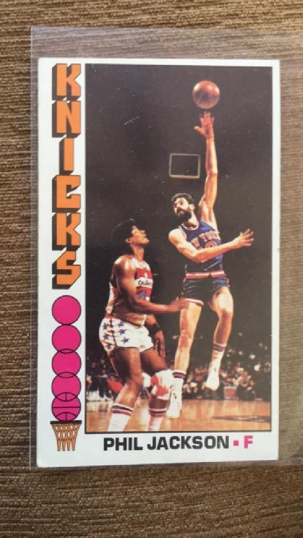 1976-77 Topps Basketball Phil Jackson