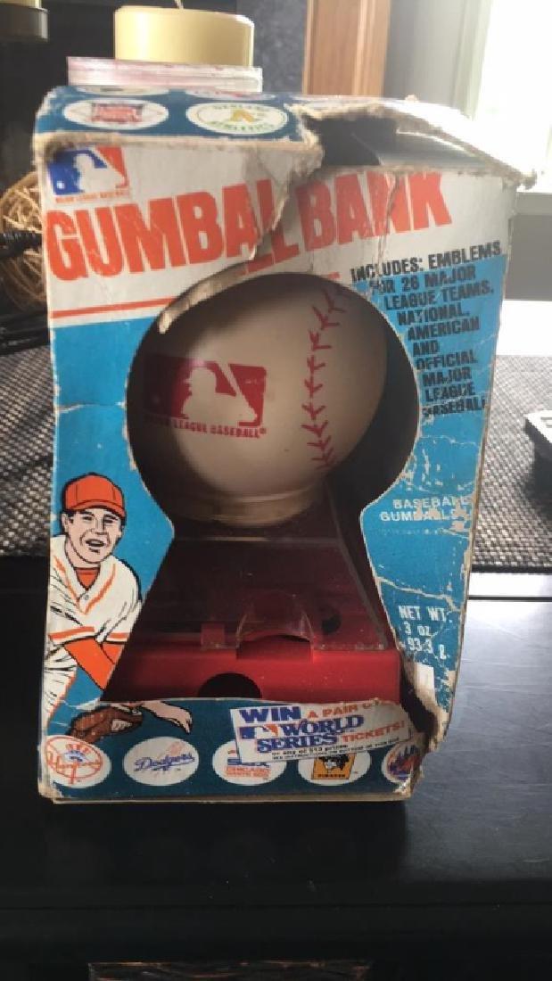 Major-league baseball gumbo bank vintage with
