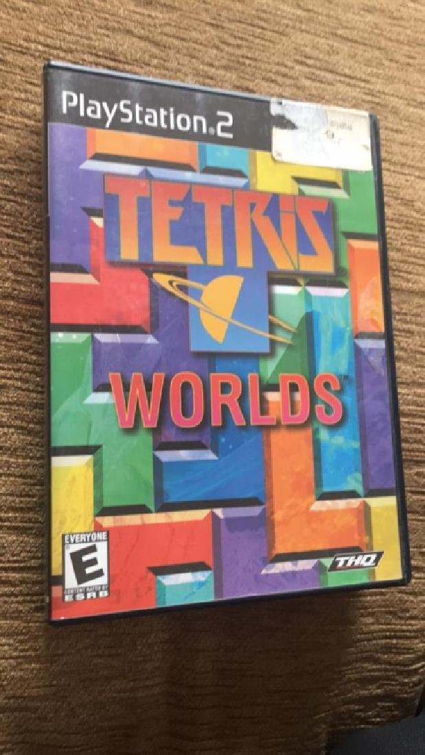 PlayStation 2 game Tetris worlds