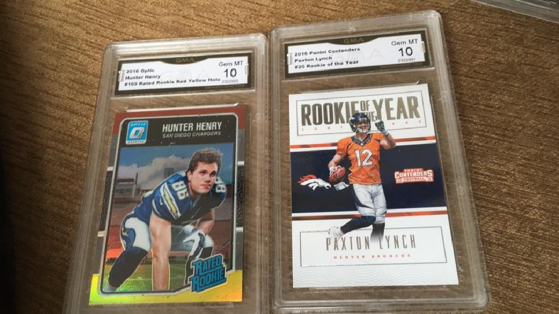 Hunter Henry and Paxton lynch graded 10 rookie