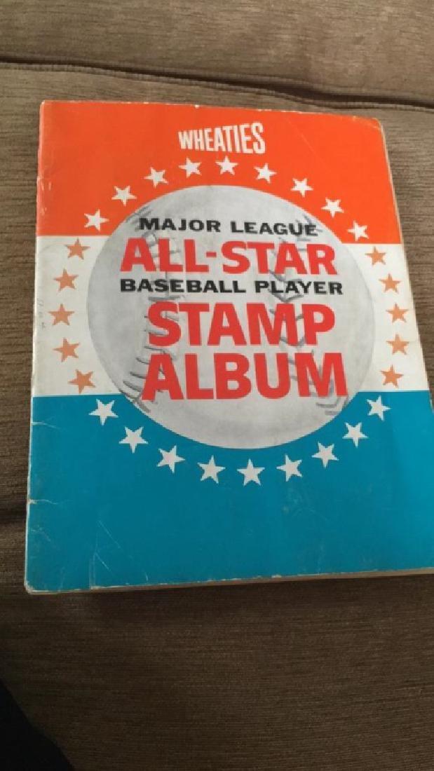 Vintage 1960s Wheaties major league All-Star