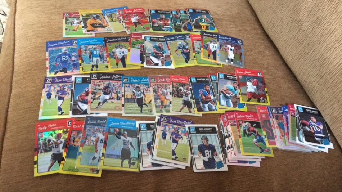 2016 optic football lot huge lot we loaded with