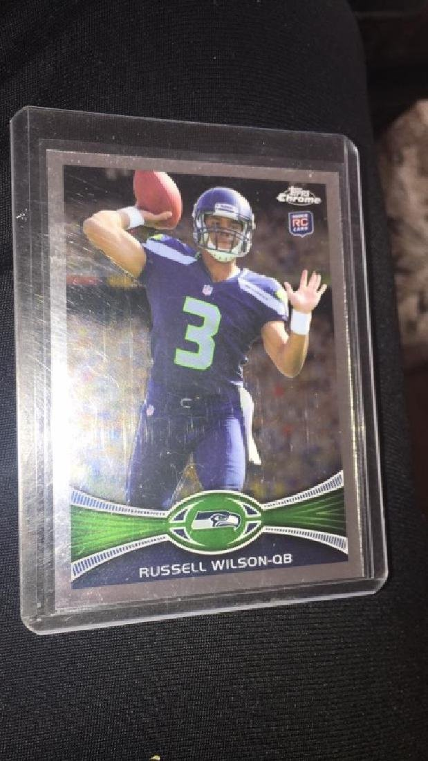 Russell Wilson 2012 Topps chrome rookie