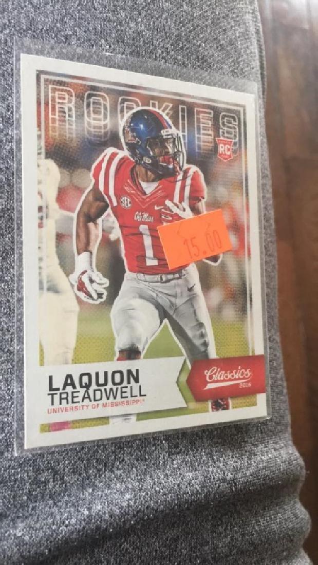 Laquon Treadwell 2016 classics draft RC blank