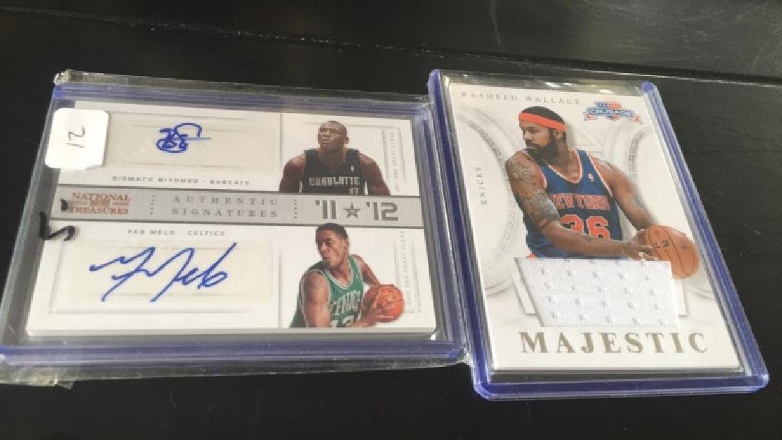 Bismack Biyombo Fab Melo Dual auto national