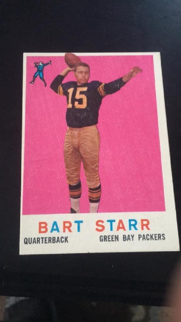 1959 Topps Bart Start Vintage football card