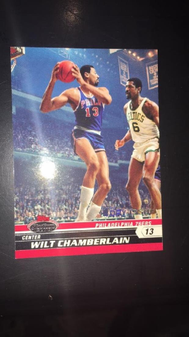 Will Chamberlain 2000 708 stadium club first day