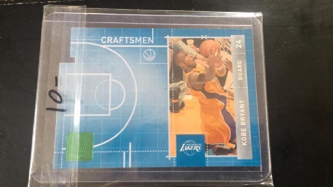 Kobe Bryant 2010 DonRuss Craftsmen diecut insert