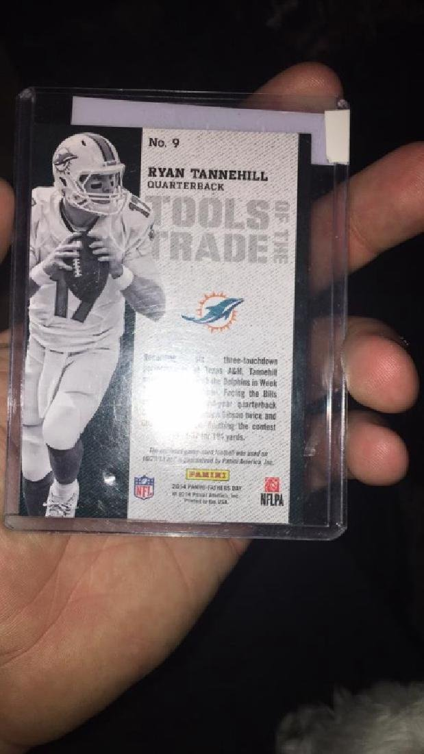 Ryan Tannehill 2014 Panini Father's Day absolute - 2