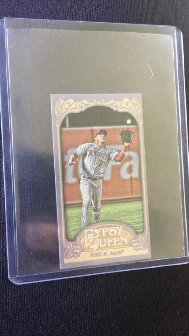 Mike Trout 2012 gypsy queen mini