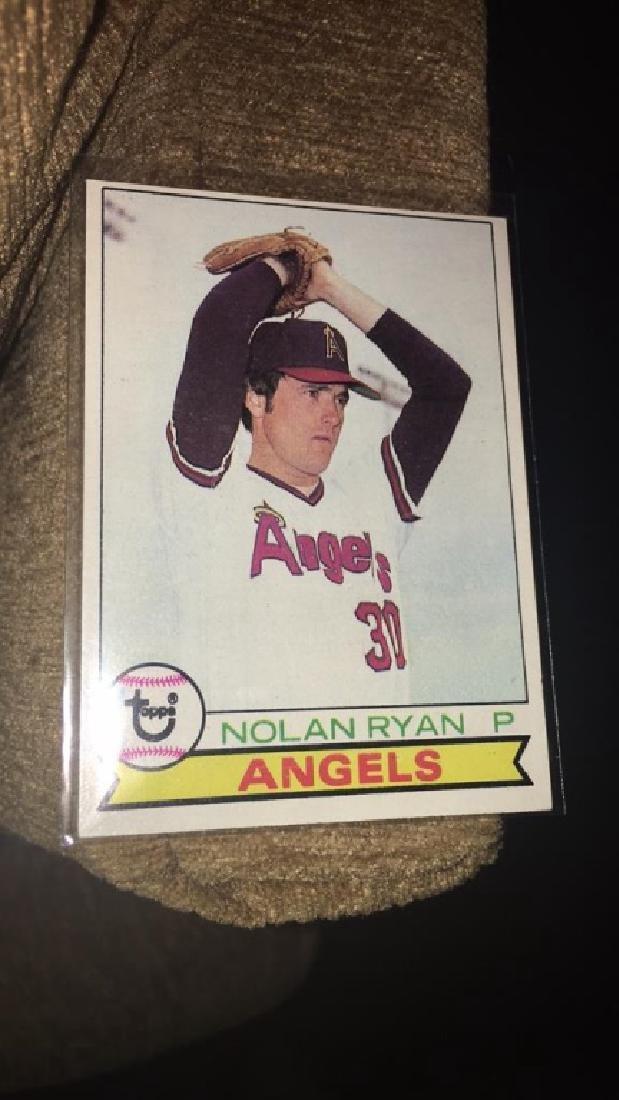 Nolan Ryan 1979 tops vintage baseball card nice