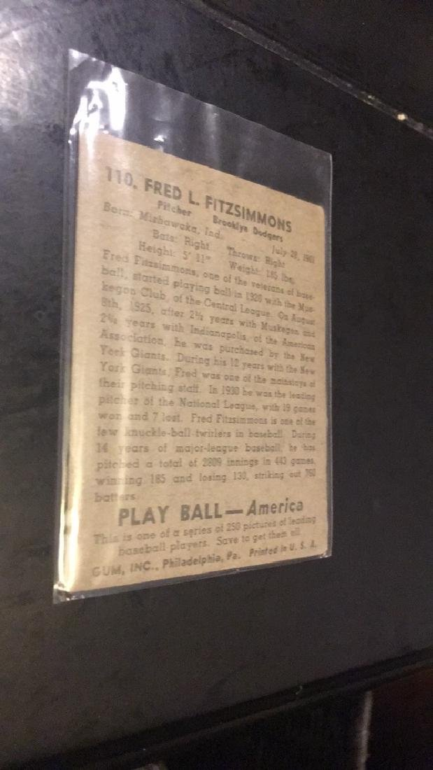 Fred Fitzsimmons 1948 play ball - 2
