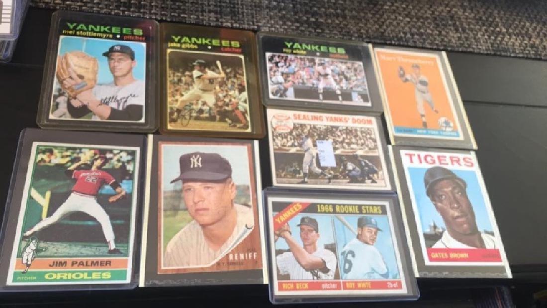 Vintage baseball card Lot 1950s 60s and 70s Jim