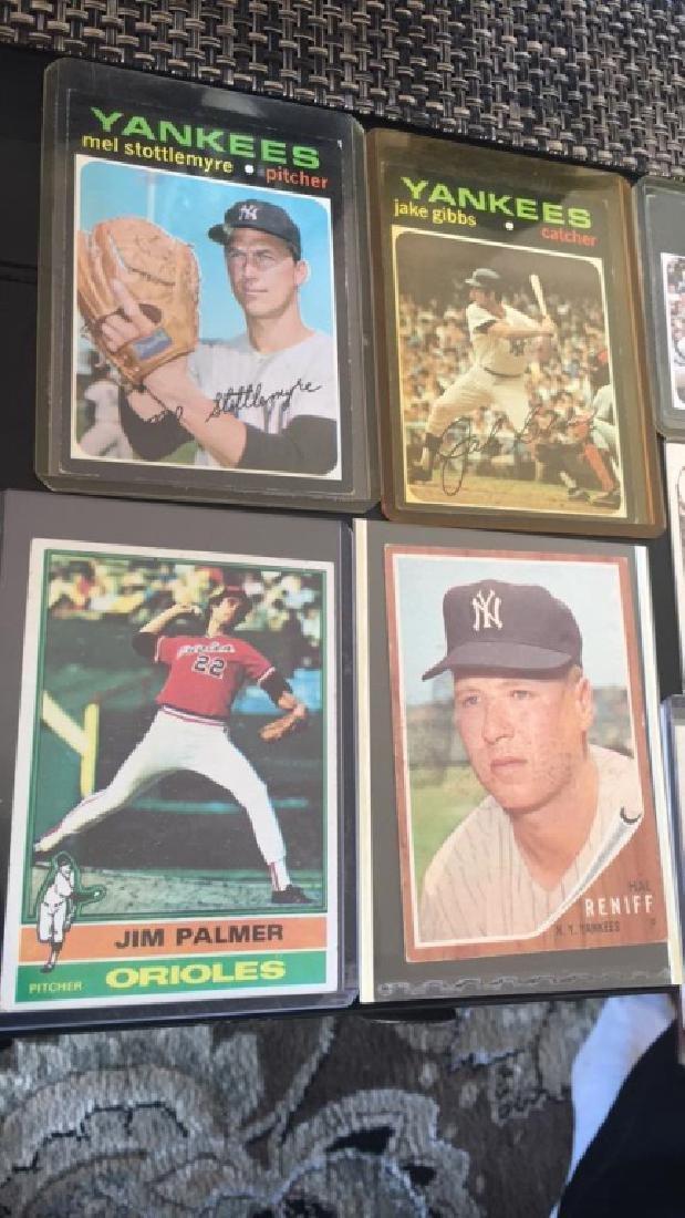 Vintage baseball card Lot 1950s 60s and 70s Jim - 2