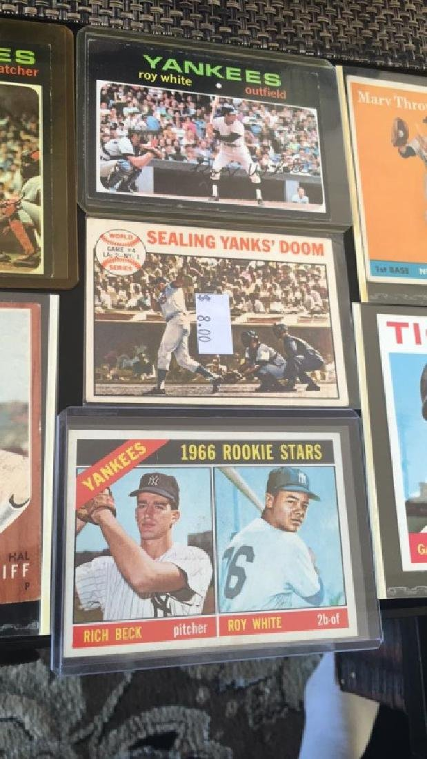 Vintage baseball card Lot 1950s 60s and 70s Jim - 3
