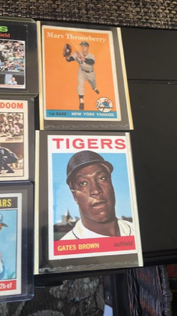 Vintage baseball card Lot 1950s 60s and 70s Jim - 4