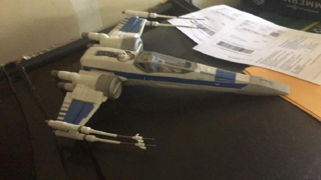 Star Wars Jet 2015 with two figures - 5