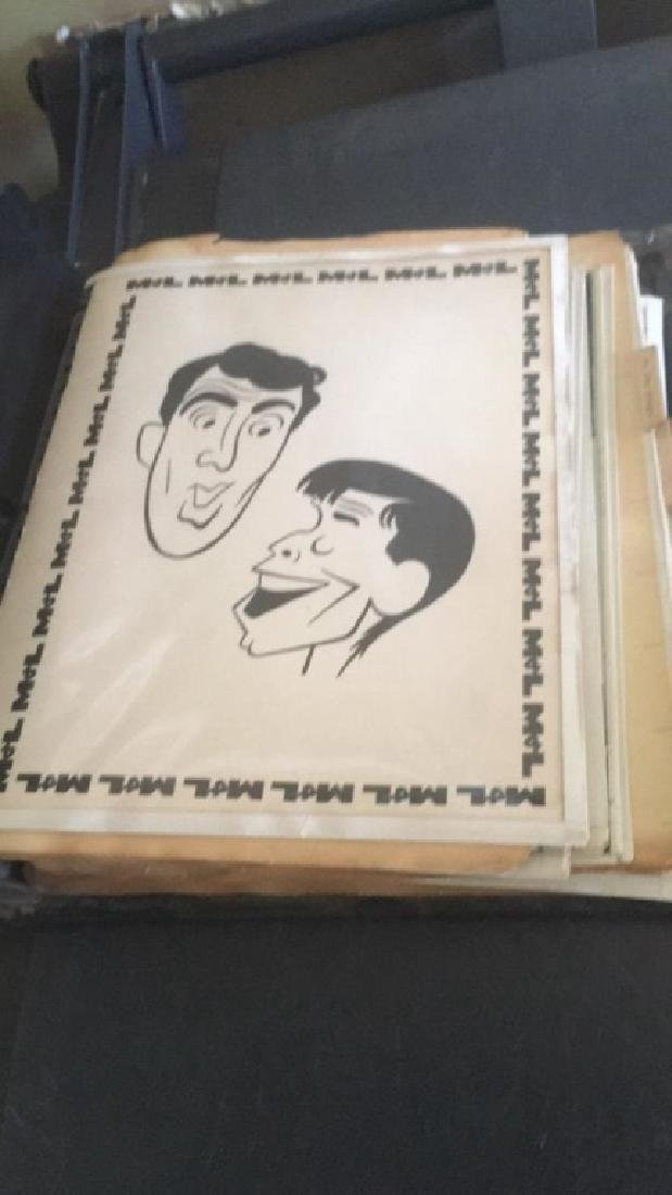 Dean Martin and Jerry Lewis handmade photograph - 2