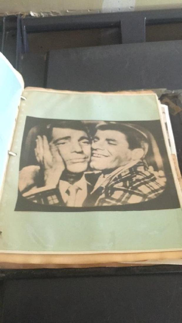 Dean Martin and Jerry Lewis handmade photograph - 9