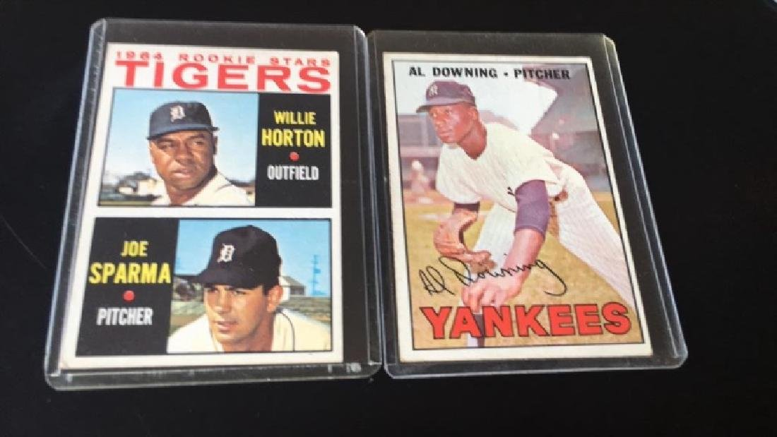 Willie Horton 1964 Tops Rookie and AL downing
