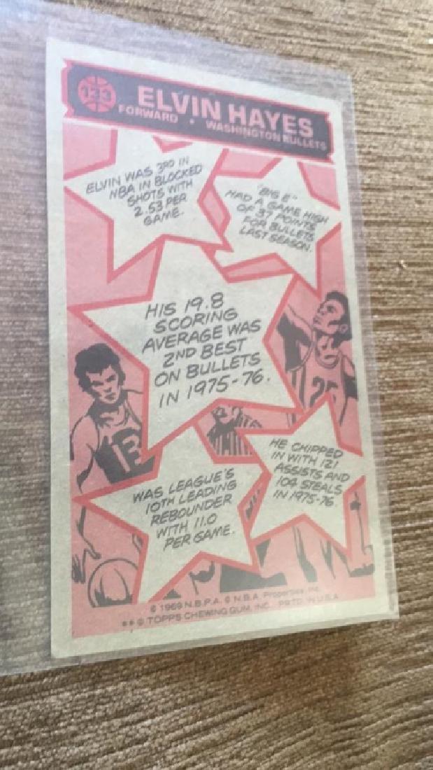 1976-77 Topps Basketball Elvin Hayes - 2