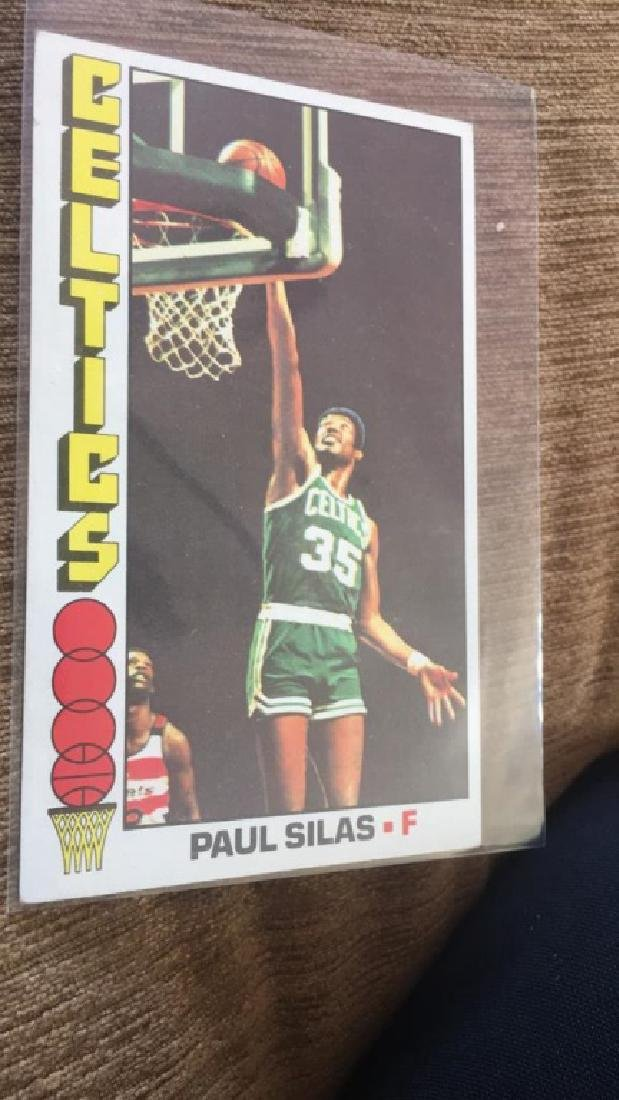 1976-77 Topps Basketball Paul Silas