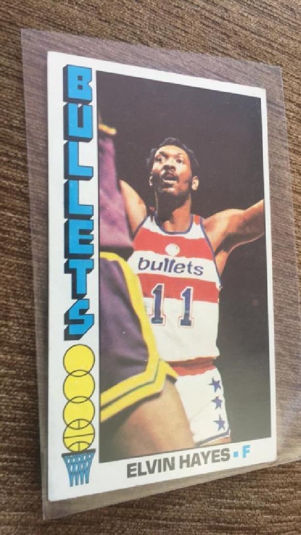 1976-77 Topps Basketball Elvin Hayes