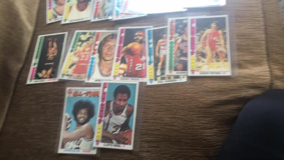 Lot of 23 1976-77 Topps basketball cards with - 3