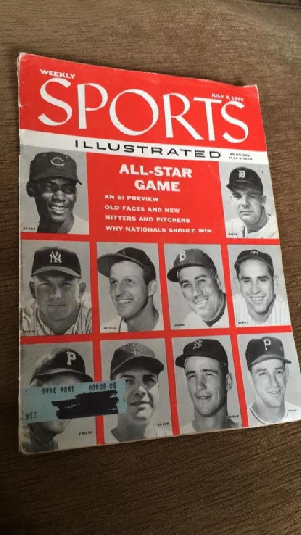 1956 Sports Illustrated July 9th 1956 All Star