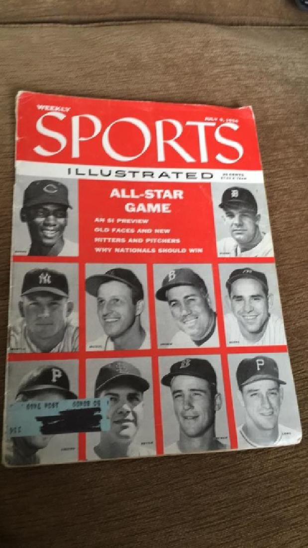 1956 Sports Illustrated July 9th 1956 All Star - 2