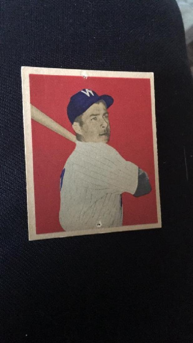 1949 Bowman Baseball Card Al Kozar