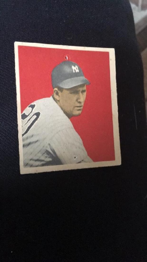 1949 Bowman Baseball Card Frank Shea