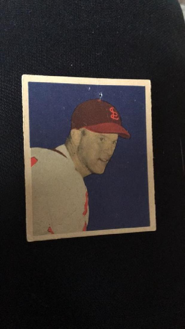 1949 Bowman Baseball Card George Red Munger
