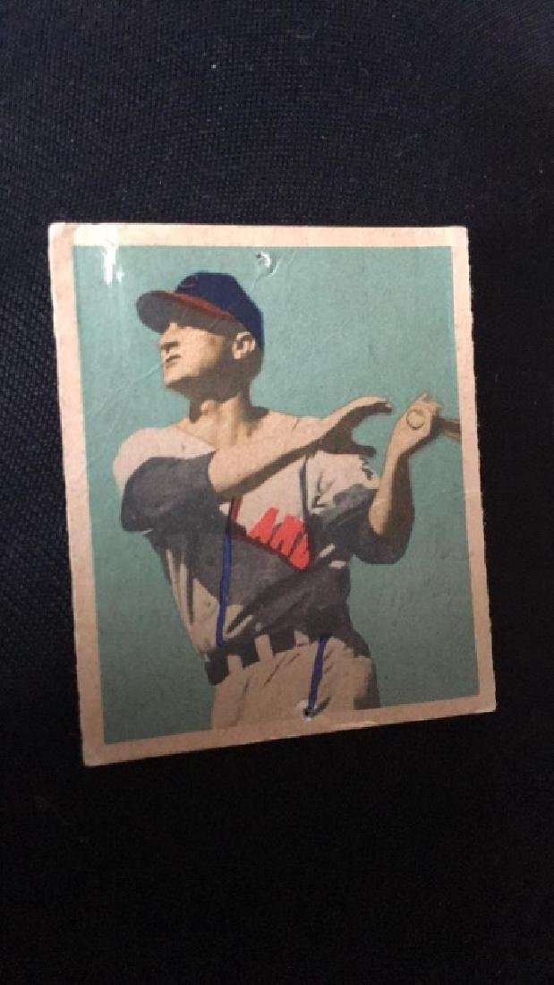 1949 Bowman Baseball Card Joe Tipton