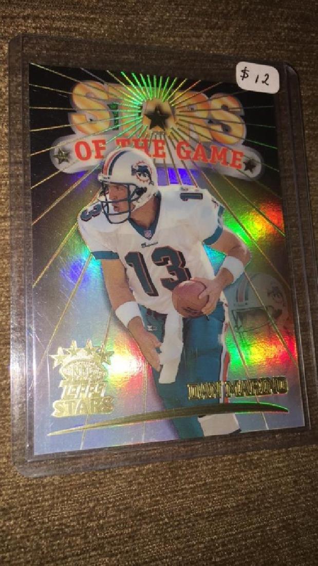 Dan Marino 1999 top stars /1999 stars if the game