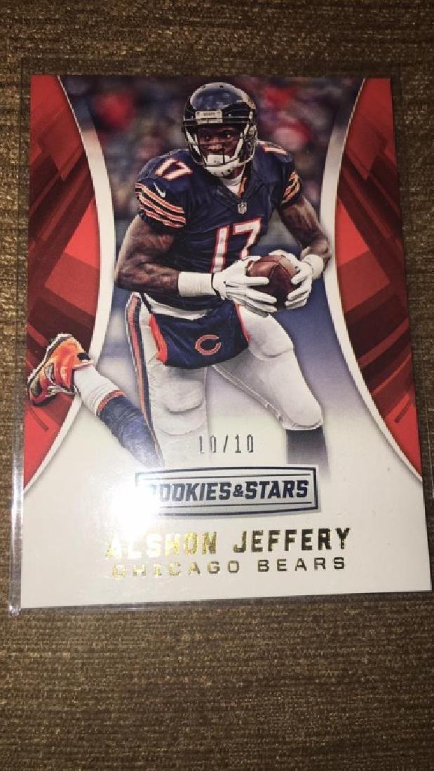 Alshon Jeffrey 2016 rookie and stars short print