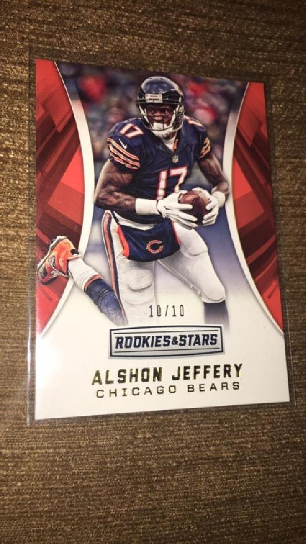 Alshon Jeffrey 2016 rookie and stars short print - 2