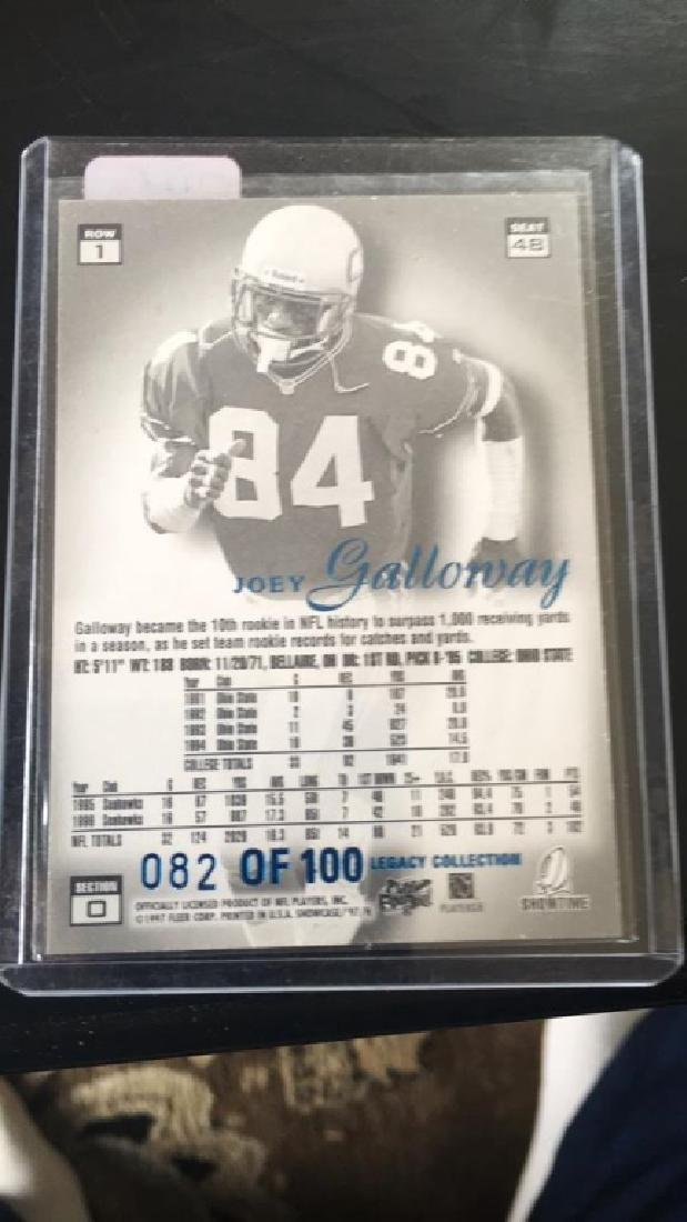 Joey Galloway 1997 flare showcase Grace legacy - 2