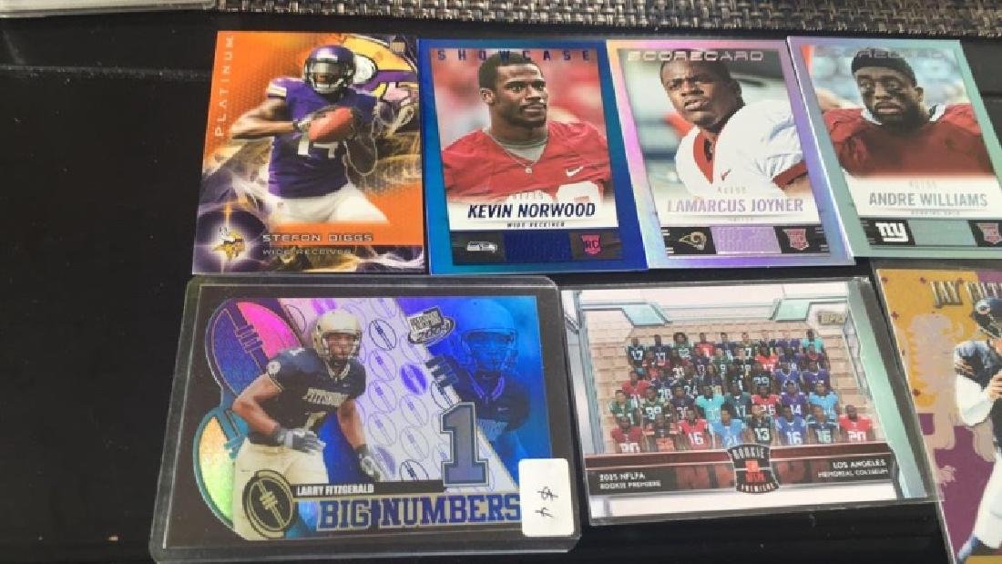 Mixed football rookie numbered sure print but - 3