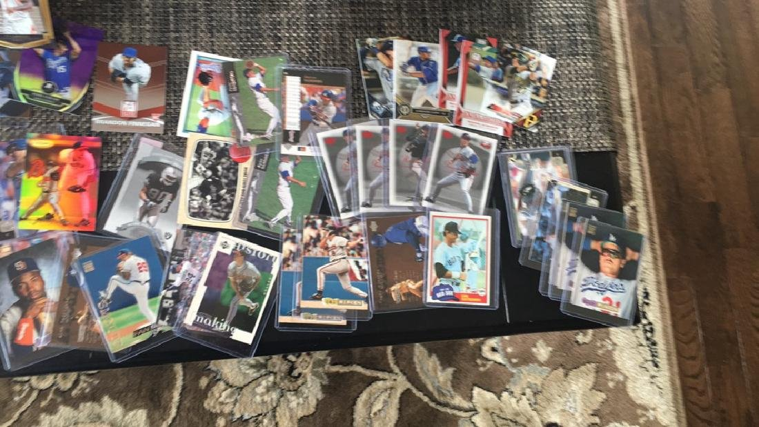 Huge box of sports cards filled with stores and - 10