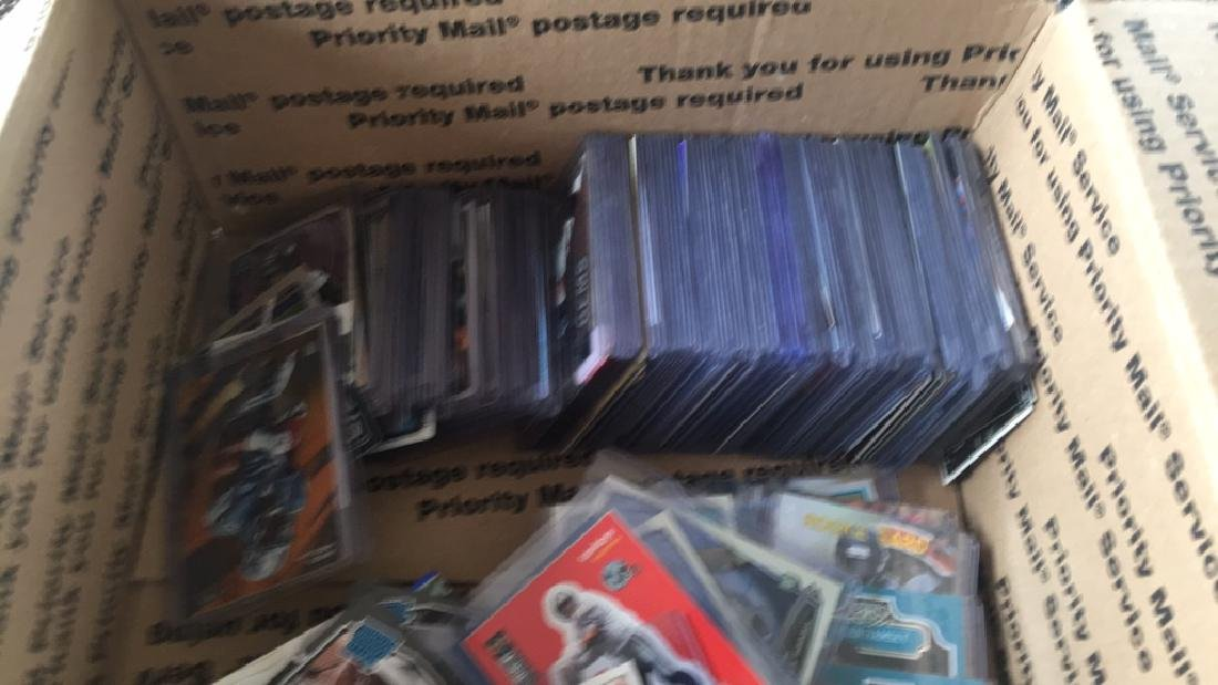 Huge box of sports cards filled with stores and - 3