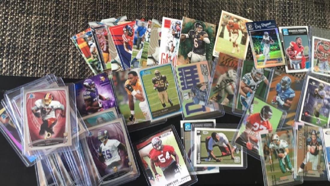 Huge box of sports cards filled with stores and - 7