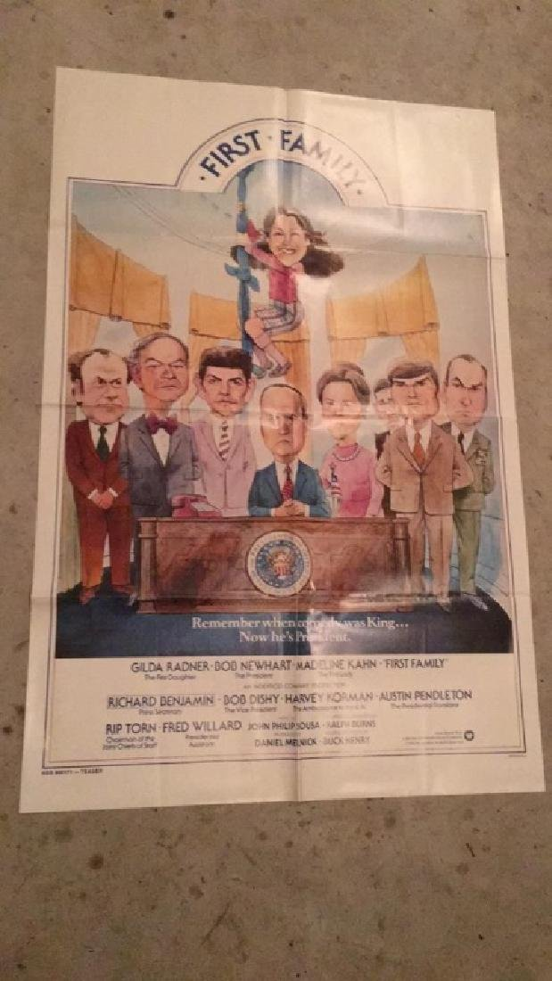 First family 1980 original movie poster