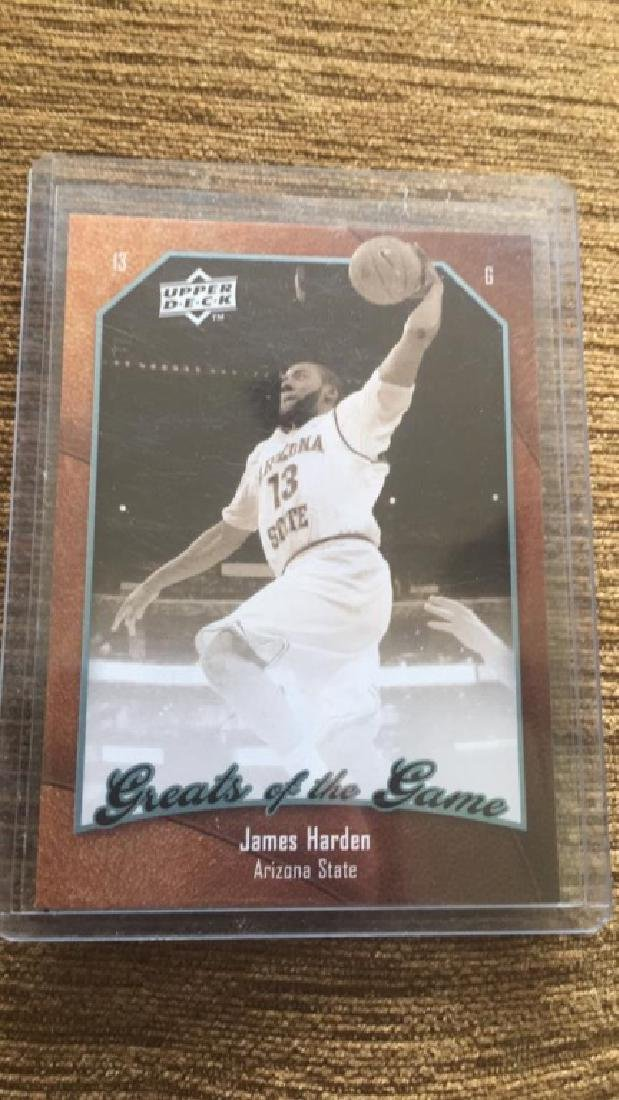 James Harden upper deck great of the game rookie