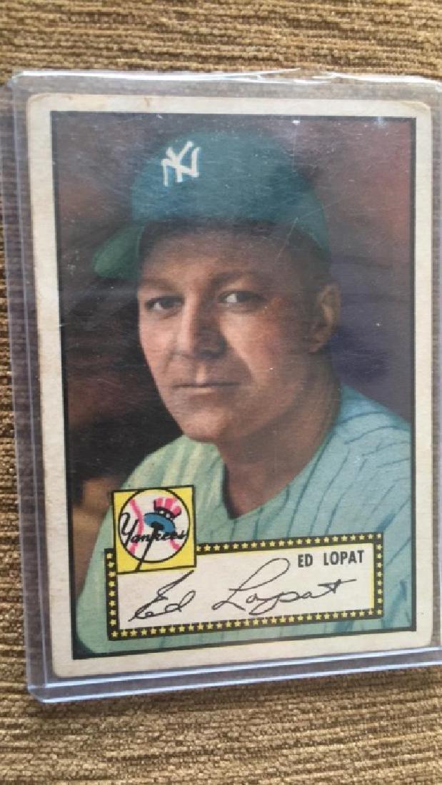 Ed Lopat 1952 Topps New York Yankees - 2