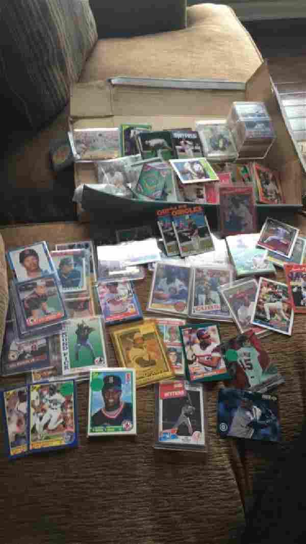 Huge shoebox full of baseball cards loaded with