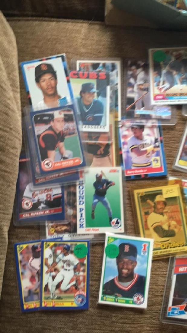 Huge shoebox full of baseball cards loaded with - 2