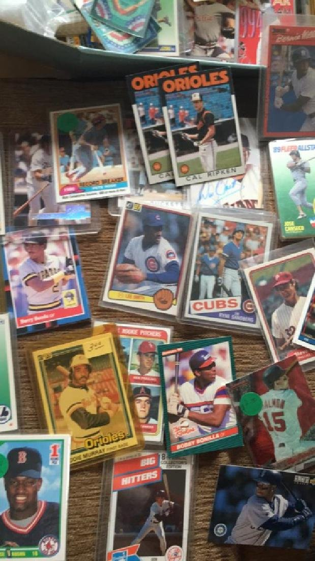 Huge shoebox full of baseball cards loaded with - 3
