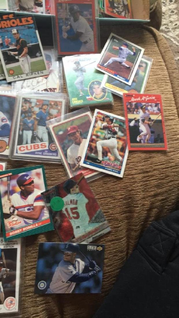 Huge shoebox full of baseball cards loaded with - 4